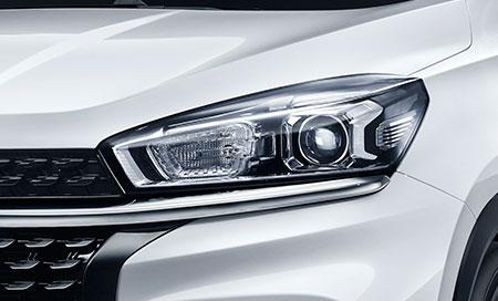 LED and halogen automatic headlamp