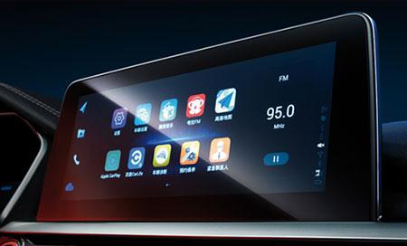 10.25-inch UHD touch screen