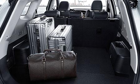 892L-1930L trunk capacity
