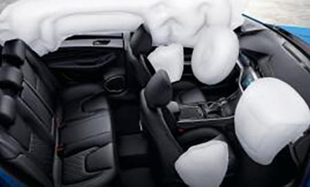 6 Autoliv airbags